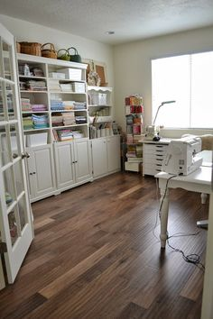 Tea Rose Home: My Sewing Room Tour