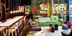 new york funky hotel lobby - Google Search