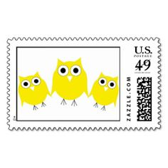 >>>Cheap Price Guarantee          3 Yellow Owls Postage Stamp           3 Yellow Owls Postage Stamp lowest price for you. In addition you can compare price with another store and read helpful reviews. BuyDeals          3 Yellow Owls Postage Stamp Online Secure Check out Quick and Easy...Cleck Hot Deals >>> http://www.zazzle.com/3_yellow_owls_postage_stamp-172919775397252160?rf=238627982471231924&zbar=1&tc=terrest
