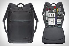 Cocoon Slim Backpack. When you have no choice but to travel with a bunch of gadgets, your biggest concern is getting them to your destination in one piece. The Cocoon Slim Backpack ($80) takes the stress out of traveling with your gear, so you can worry about making it to your flight on time.