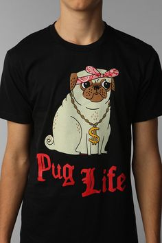 Gemma Correll Pug Life Tee Online Only  urban outfitters