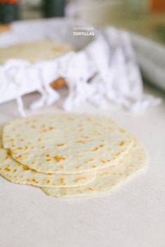 Homemade Tortillas: will never buy tortillas from the store again.