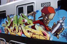 Subway Graffiti !