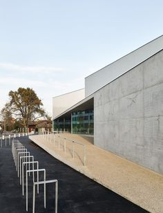 Dominique Coulon & Associés, Eugeni Pons, David Romero-Uzeda · 'Human Rights' sports centre in Strasbourg