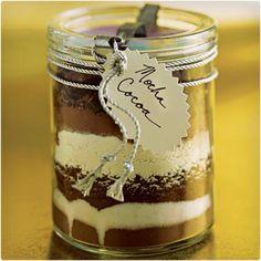 Mocha Cocoa in a Jar