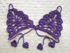 Crochet fingerless gloves Steampunk  Lace fingerless by Ebruk