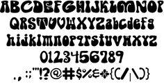 Image for Shagadelic font