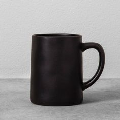 Enjoy your morning coffee or tea in style with this Stoneware Mug from Hearth & Hand™ with Magnolia. The stone construction makes this mug durable, while its simple yet rustic look makes it easy for you to mix it in with the rest of your drinkware. Both dishwasher- and microwave-safe, it's extremely easy to care for and fill with any hot or cold beverage.<br><br>Celebrate the everyday with Hearth & Hand — created exclusively for Target in collaborati...