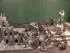 Warhammer 40K Terrain How To - Part Three - Buildings and Ruins