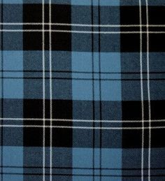 Ramsay Blue Ancient Tartan. Strome Heavy Weight Fabric from Lochcarron of Scotland, sold by the metre. 500-515gm per linear metre 138 cm wide. . . Sold by TartanPlusTweed.com A family owned kilt and gift shop in the Scottish Borders