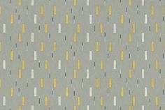 Wrapping (210205) - Sanderson Wallpapers - A small square and diagonal line motif design giving a random all over effect. Shown in grey and yellow. Other colourways available.  Please request sample for true colour match. Wide width.