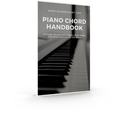 Piano Chord Handbook Mockup (2) Piano Chord, Yamaha Keyboard, Free Piano, Piano Tutorial, Piano Lessons, Mockup, Bohemian, Tutorials, Notes
