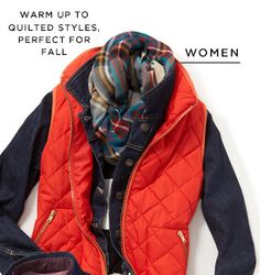 WARM UP TO QUILTED STYLES, PERFECT FOR FALL | WOMEN