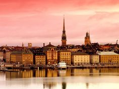 Sweden, Stockholm, near my town Uppsala! Countries Around The World, Around The Worlds, Sweden Cities, Sweden Europe, Destinations, Stockholm Sweden, Study Abroad, Oh The Places You'll Go, Beautiful Places