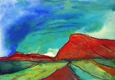 Landscape - Red Mountains