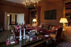 Neoclassical Grandeur with the Brazilian touch - A mansion in Sao Paulo decorated by Jorge Elias, Architect. Jorge Elias, Grand Tour, Decor Interior Design, Old And New, Architecture Design, Indoor, Couch, Contemporary, Toque