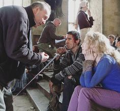 Matthew Lewis and Evanna Lynch  Behind the Scenes of Harry Potter and the Deathly Hallows part 2