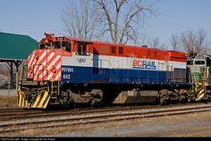 RailPictures.Net Photo: MHWA 642 Mohawk, Adirondack & Northern Railroad MLW M420W at Carthage, New York by Joe Hance