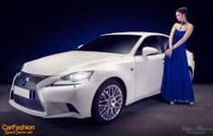 "CarFashion ""Electric Blue"" with Lexus IS 300h"