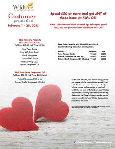 February 2015 Customer Promotion!