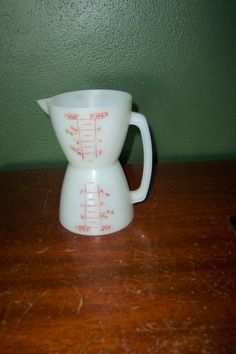 Tupperware Measuring Cup Double Sided Liquid and by LuRuUniques, $10.00