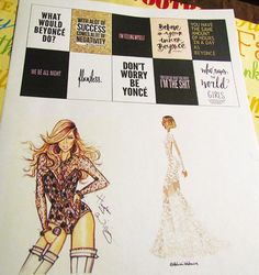 Who doesn't love their planner? Use yours and plan with me! Beyonce takes over the planner world!
