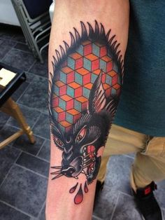 Tattoo by Joe Ellis