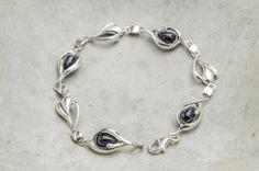 Armbånd i sølv med svart aventurin stein Silver Jewelry, Ring, Bracelets, Wristlets, Rings, Silver Jewellery, Jewelry Rings, Bracelet, Arm Bracelets