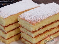 Confectionery, Desert Recipes, Vanilla Cake, Sweet Recipes, Ale, Deserts, Food And Drink, Sweets, Cookies
