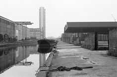 Surrey Canal, London, in 1970