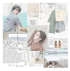 """""""☼ BATTLE ONE :: SOTF KPOP ☼"""" by taerrible ❤ liked on Polyvore featuring art and SOTFKPOP"""