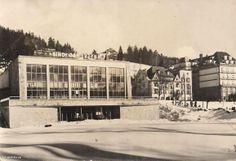 """Centrum Kultury (Kino """"Jaworzyna""""), Krynica-Zdrój - 1965 rok, stare zdjęcia"""