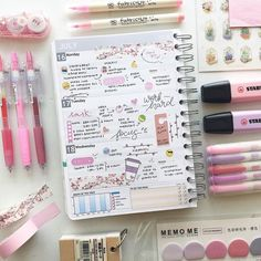 Another planner post! my planner was kindly sent to me from Tha. Another planner Stationary Organization, Stationary Supplies, Stationary For School, Stationary Design, Lettering Tutorial, Cool School Supplies, Tumblr School Supplies, College Supplies, School Suplies