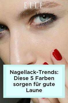 Im Frühling 2021 präsentiert sich Nagellack besonders frisch und knallig! Die fünf Trends bei Farben zeigen wir jetzt im Video! #nagellack #nägel
