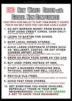 END The New World Order with Global Non Compliance! ~ RiseEarth