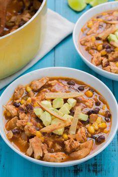 Carnitas Enchilada Soup