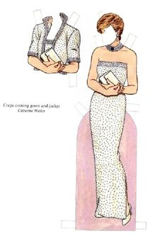 Diana Princess of Wales Charity Auction Dresses