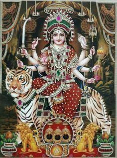 Lord Durga, Durga Ji, Saraswati Goddess, Shiva Shakti, Lord Shiva, Maa Durga Photo, Maa Durga Image, Navratri Puja, Vaishno Devi