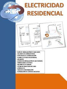 Manual de electricidad residencial para estudiantes o para trabajadores.   CONTENIDO:    SIMBOLOGÍA ELÉCTRICA  CALIBRE Y AISLAMIENTO...