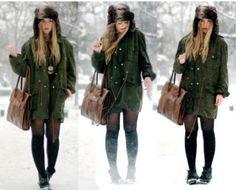 snowday fashion 13 Snow day, snow day! (28 photos)
