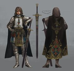 ArtStation - Siranush, Daughter of the Sparapet, Niram S Fantasy Female Warrior, Female Knight, Fantasy Armor, Fantasy Weapons, Medieval Fantasy, Game Concept Art, Armor Concept, Fantasy Inspiration, Character Design Inspiration