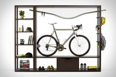 Most bicycle storage solutions look for ways to get your bike out of the way, and often out of sight. The Vadolibero Bike Shelf turns this idea on its head, instead treating your bike like the display-worthy piece of engineering...