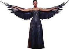 Image result for katniss everdeen mockingjay suit