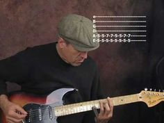Slide blues guitar lesson in open D tuning ala Elmore James Jeremy Spencer - YouTube
