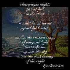"""""""ciel de nuit"""" -Painted Words, kimelenecarr"""