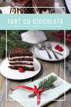 Dacă iubești ciocolata și îți place la nebunie gustul puțin amărui al ciocolatei negre atunci o să-ți placă cu siguranță acest tort. Tort cu ciocolata alba si neagra. Sweet, Desserts, Candy, Tailgate Desserts, Deserts, Postres, Dessert, Plated Desserts