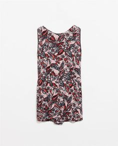 Image 9 of PRINTED PLAYSUIT from Zara