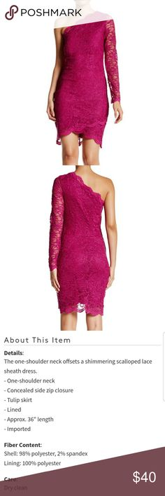 NWT City Triangles pink lace dress Brand new with tags City Triangles pink 1 long sleeve lace dress City Triangles Dresses Midi