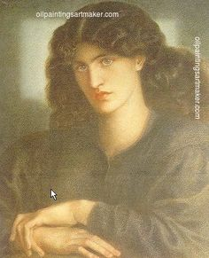Dante Gabriel Rossetti The Lady of Pity, 1879 painting outlet, painting Authorized official website