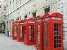 London phone boxes 3rd visit.